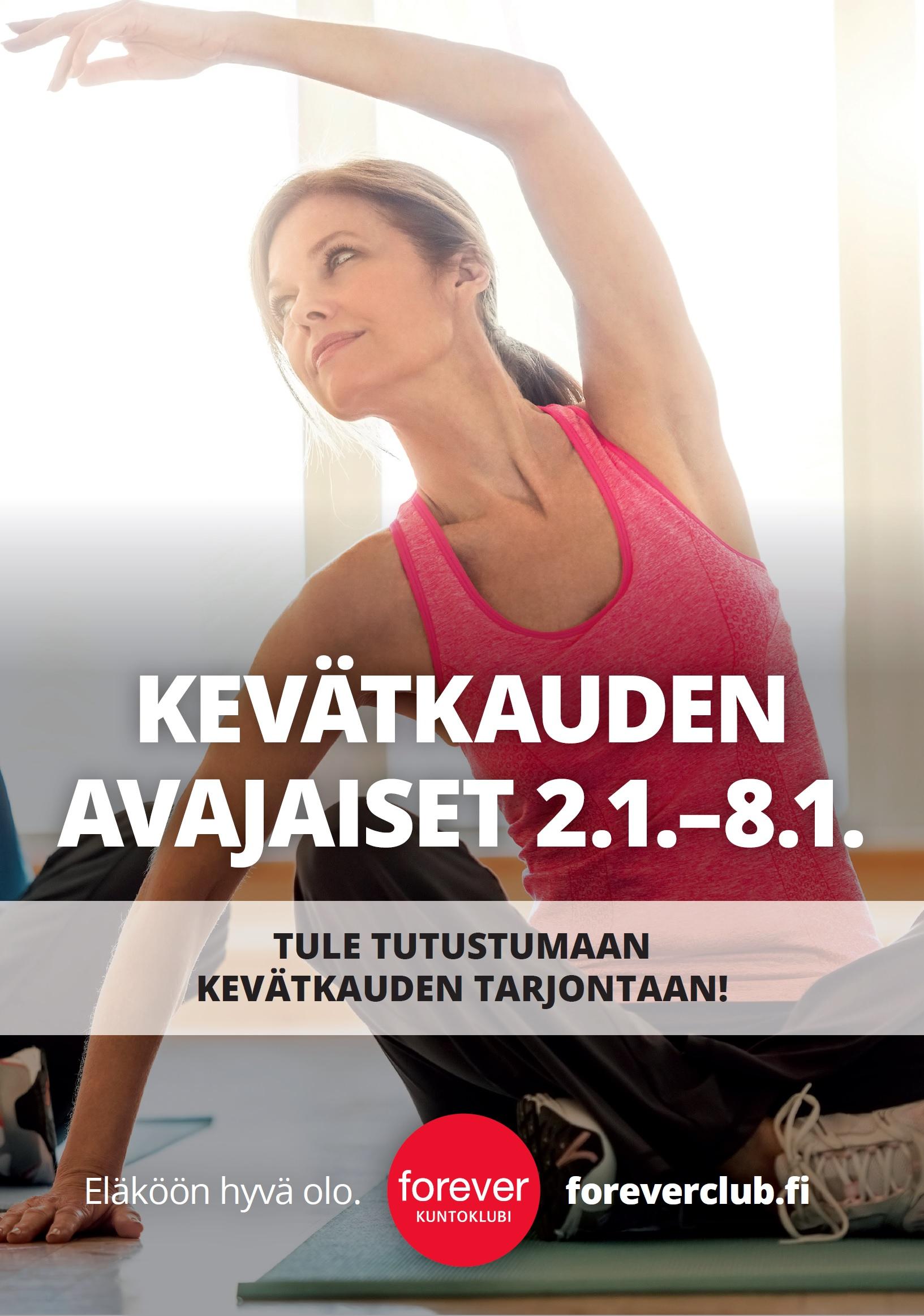 Forever Varistolla kevätkauden avajaiset 2.1.-8.1.2017