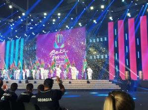 Danil Seksenov Nuorten olympiafestivaaleilla