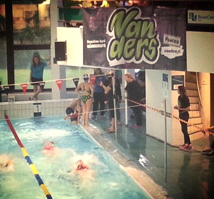 Vanders uimareita NPM-joukkueeseen
