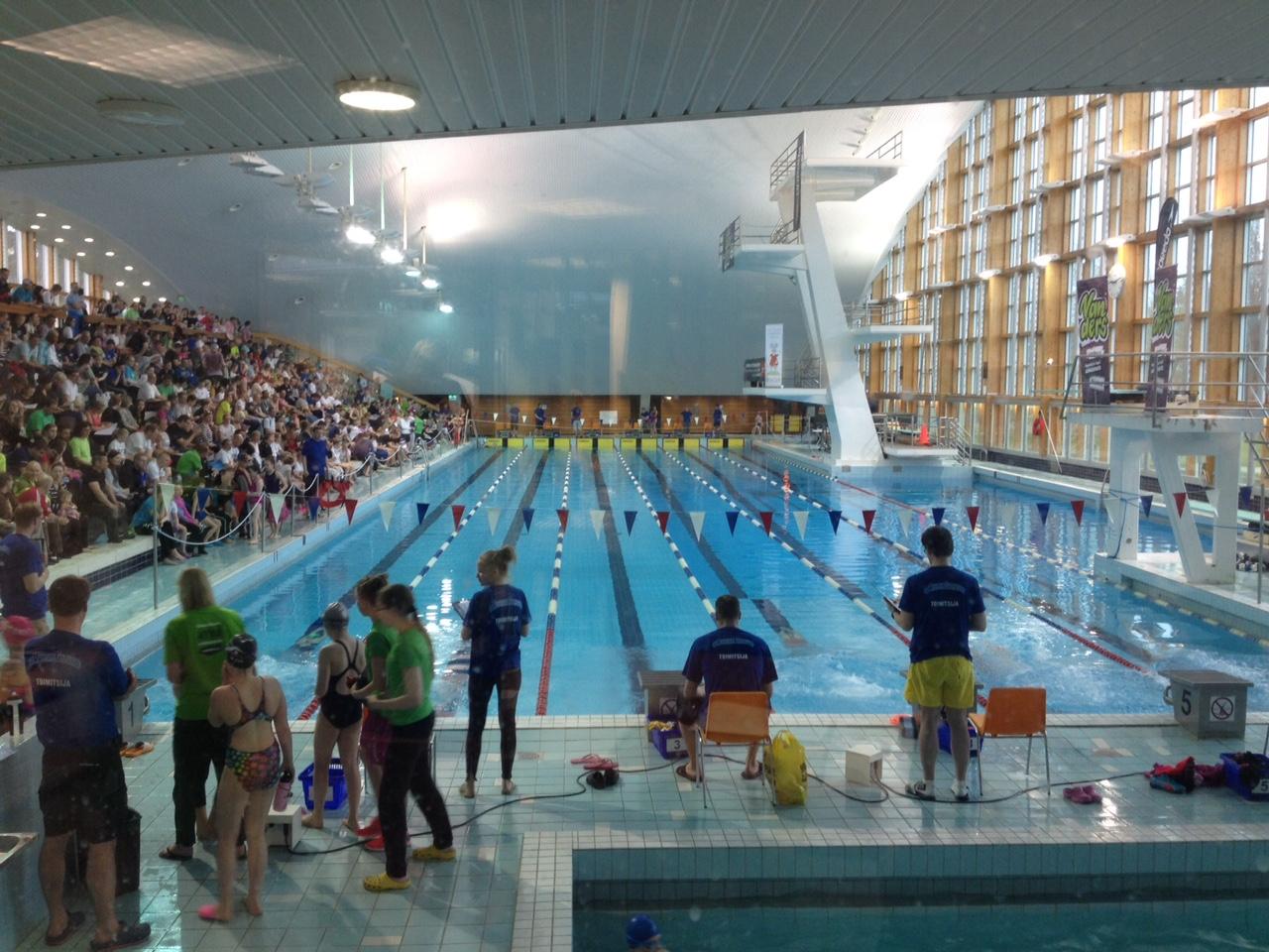 Masters SE Vantaa Games kisoissa